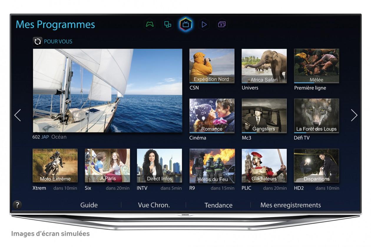 """Dizajnové 55"""" Samsung UE55H7000"""