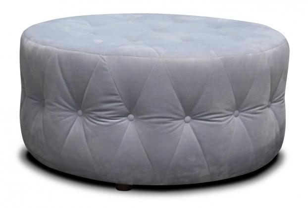 Dizajnové taburetky Taburet Luxury kruh (látka)