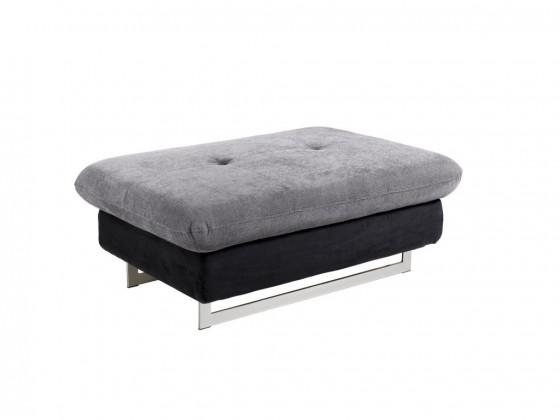 Dizajnové taburetky Taburetka Jersey obdĺžnik čierna, sivá ÚP