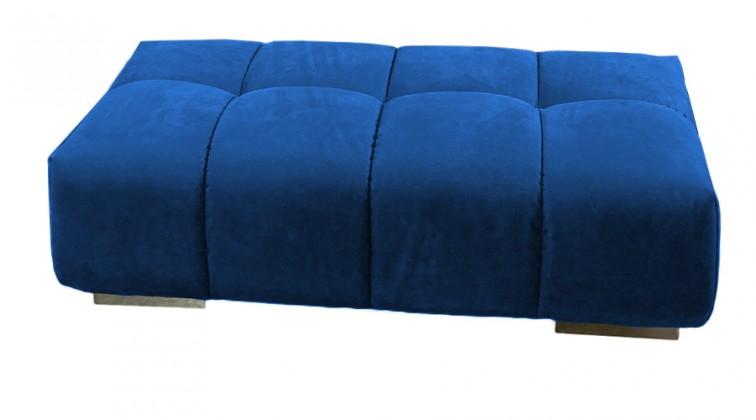 Dizajnové taburetky Taburetka Treviso obdĺžnik modrá