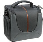 Doerr Yuma Photo Bag XL black/orange