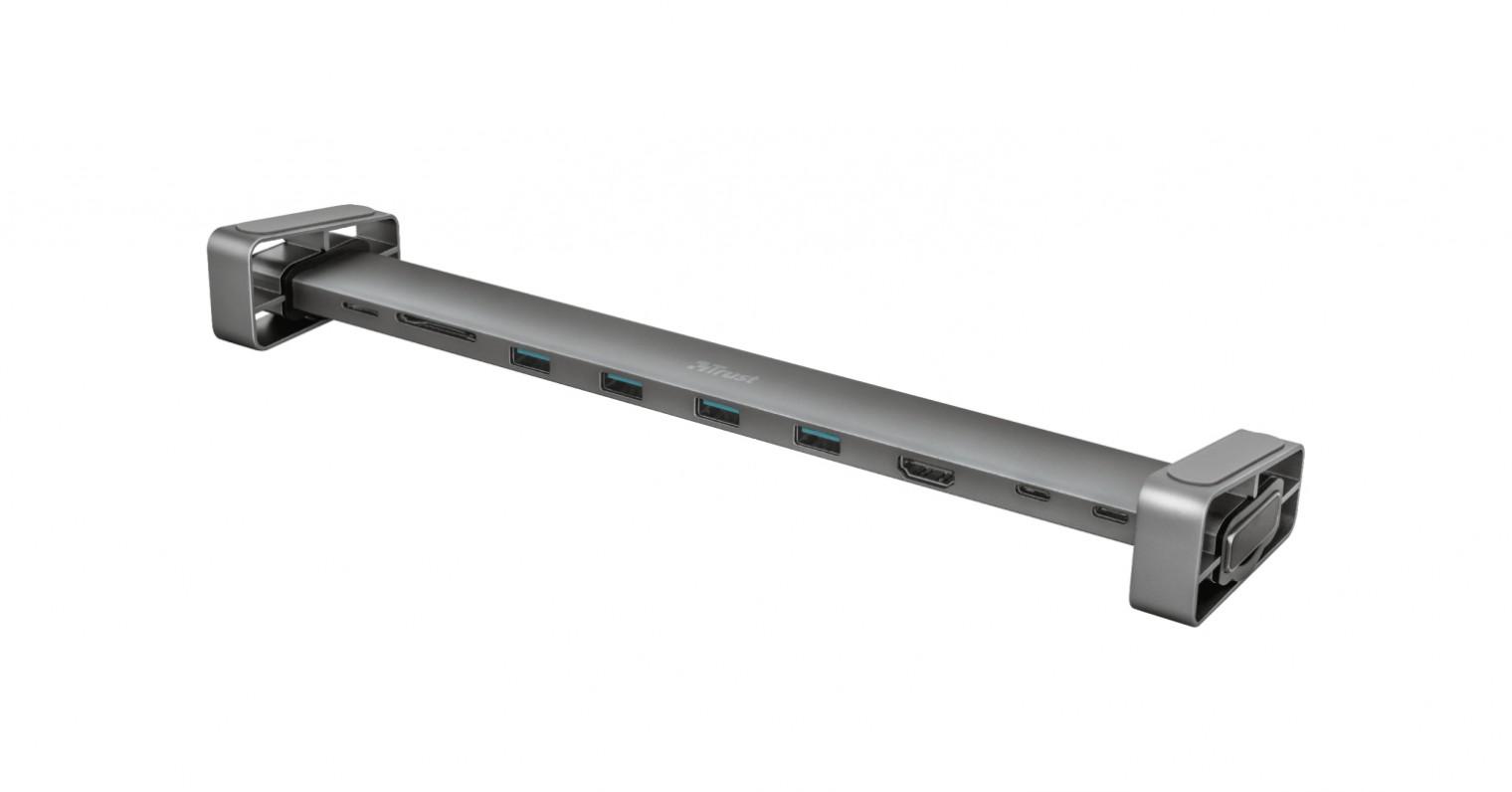 Dokovacie stanice Multiportový adaptér Trust Dalyx 10 v 1, USB-C, HDMI port