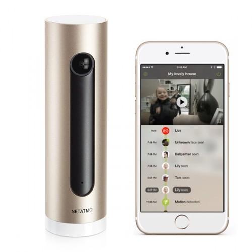 Domáca záznamová HD kamera NETATMO