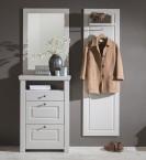 Domi - Kombi 01, zrkadlo, komoda 3 zásuvky, šatníková panel