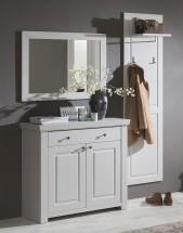 Domi - Kombi 59, zrkadlo, komoda 1 zásuvka, 2 dvere, panel