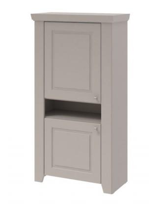 Domi - Vitrína univerzálna, 2x dvere, nika (kašmír)