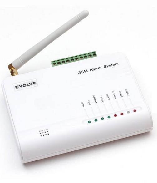 Domovní alarmy GSM alarm EVOLVE Sonix POUŽITÝ NEOPOTREBENÝ TOVAR