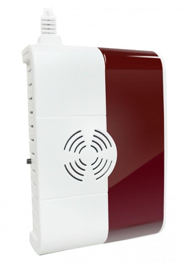 Domovní alarmy iGET SECURITY P6 - bezdrôtový detektor plynuu ROZBALENÉ