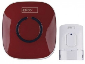 Domový bezdrôtový zvonček Emos P5718R AC 838R RUD