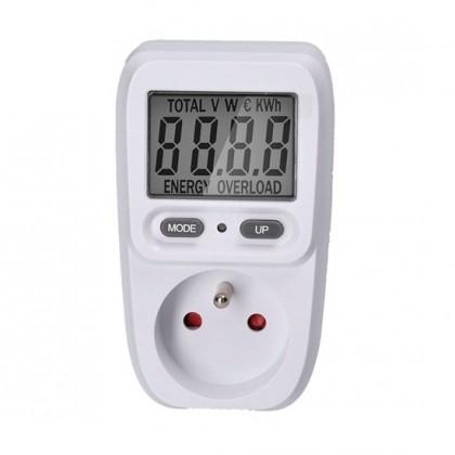Doplnky Digitálny merač spotreby elektrické energie Solight DT26