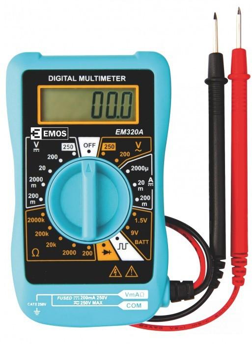 Doplnky Multimeter Emos MD-110, 200-250V
