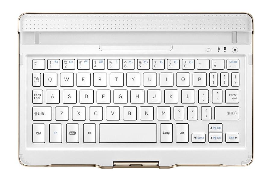 """Doplnky pre tablety Klávesnica Samsung pre Galaxy Tablet S 8,4"""", biela"""