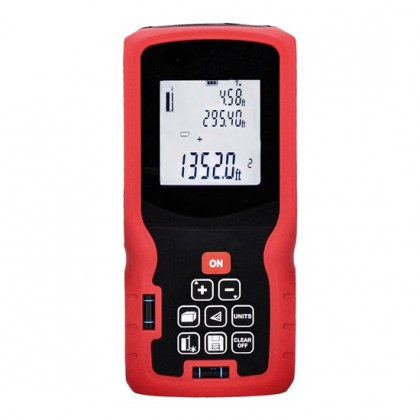 Doplnky Profesionálný laserový merač vzdálenosti Solight DM80, 0,05-80m