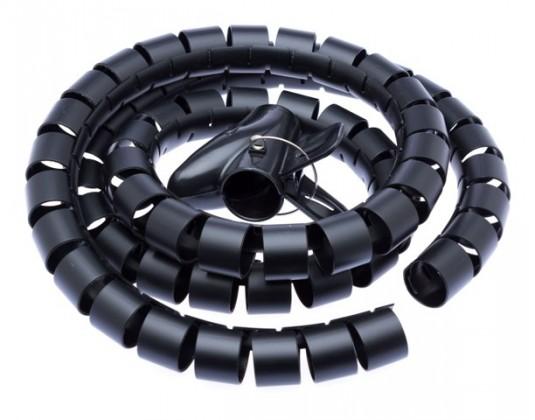 Doplnky Trubica pre vedenie káblov WINDER Connect IT CI515, 1,5m, čierna