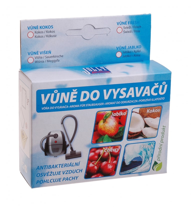 Doplnky Vôňa do vysávača - kokos - 5 ks