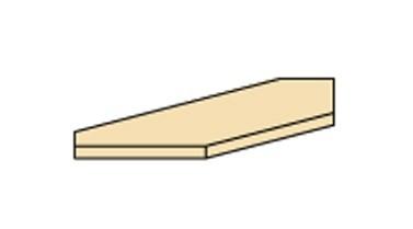 Doplnok Cassanova - rampa rohová (pre skriňu R 1 DV)