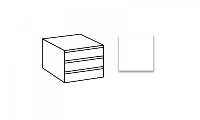 Doplnok Match Up - Vnútorné zásuvky (alpská biela)