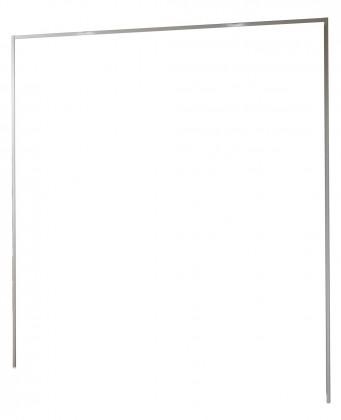 Doplnok Medina - Rímsa na šatníková skriňa 200 cm (alpská biela)