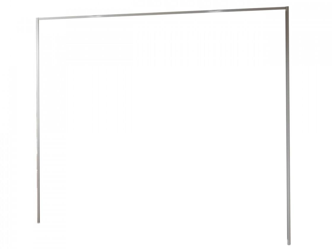 Doplnok Medina - Rímsa na šatníková skriňa 300 cm (alpská biela)