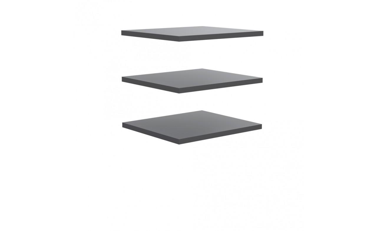 Doplnok Starlet Plus - Set 3 polic 48 cm (pre STPS124E1) (sivá)
