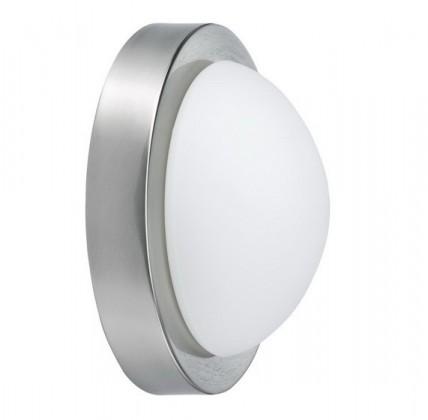 Dopp - Nástenné svietidlá, žiarovka (kartáčované železo)