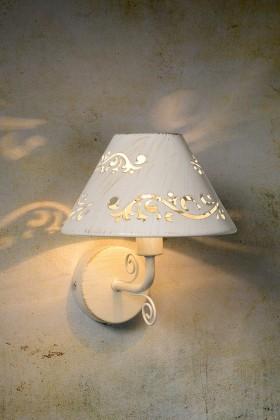 Dorint - nástenné osvetlenie, 40W, E14 (biela)