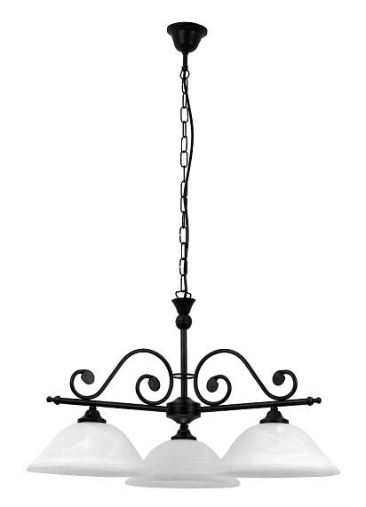 Dorothea - 7773 (matne čierna/biela alabastrová)