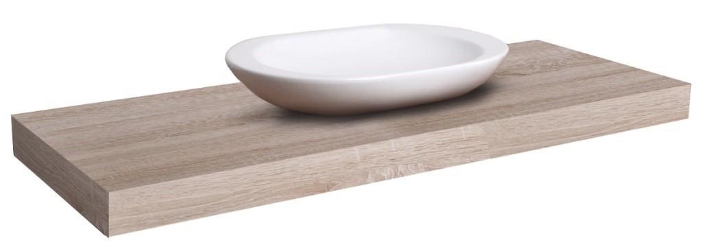 Dosky pod umývadlo Doska pod umývadlo DU03 (70x8x50 cm, dub bardolino)