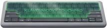 Dotyková klávesnica PRESTIGIO Click&Touch, EN, sivá POUŽITÉ, NEOP
