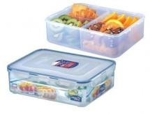 Dóza na potraviny Lock & Lock HPL834C, priehradka, 3,9 l