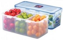 Dóza na potraviny Lock & Lock HPL848C, delená, 3,4 l