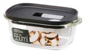 Dóza na potraviny Lock & Lock LLG940B, silikátové sklo, 550 ml