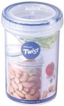 Dóza na potraviny Lock & Lock LLS113, TWIST, guľatá, 330ml