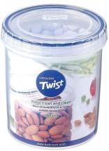 Dóza na potraviny Lock & Lock LLS122, TWIST, guľatá, 560ml
