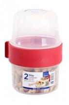 Dóza na potraviny Lock & Lock LLS211, 2V1, 2x150ml