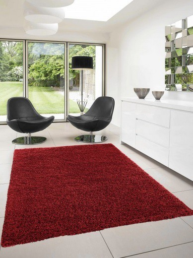 Dream Shaggy - koberec, 110x60cm (100%PP shaggy, červená)
