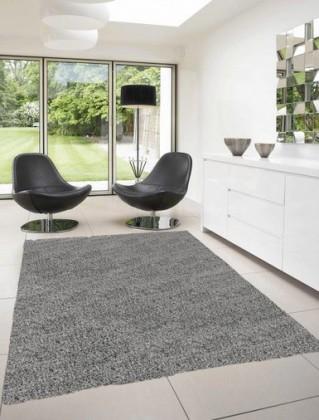 Dream Shaggy - koberec, 170x120cm (100%PP shaggy, sivá)