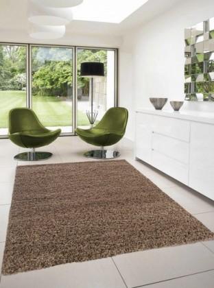 Dream Shaggy - koberec, 170x120cm (100%PP shaggy, svetle hnedá)