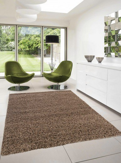 Dream Shaggy - koberec, 290x200cm (100%PP shaggy, svetle hnedá)