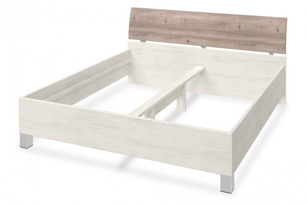 Drevená Arianna - Spálňová posteľ, 406999 (dub nelson)