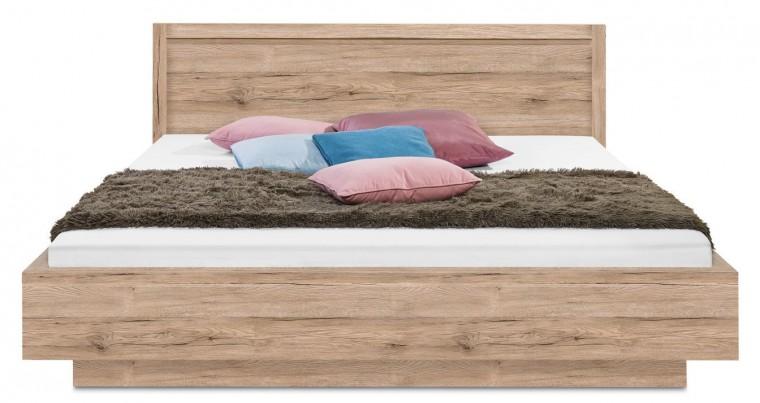 Drevená Cosmo - 200x160, priečny sokel (dub pieskový)