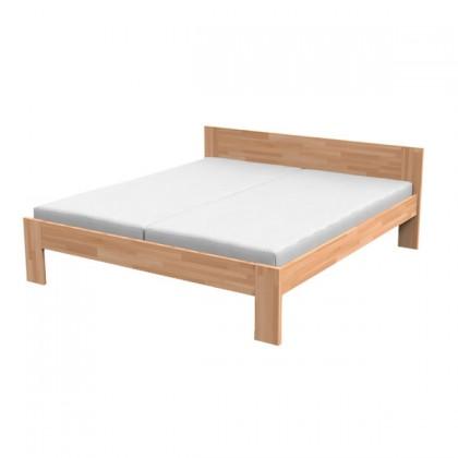 Drevená Drevená posteľ Monika, vrátane roštu, bez matracov