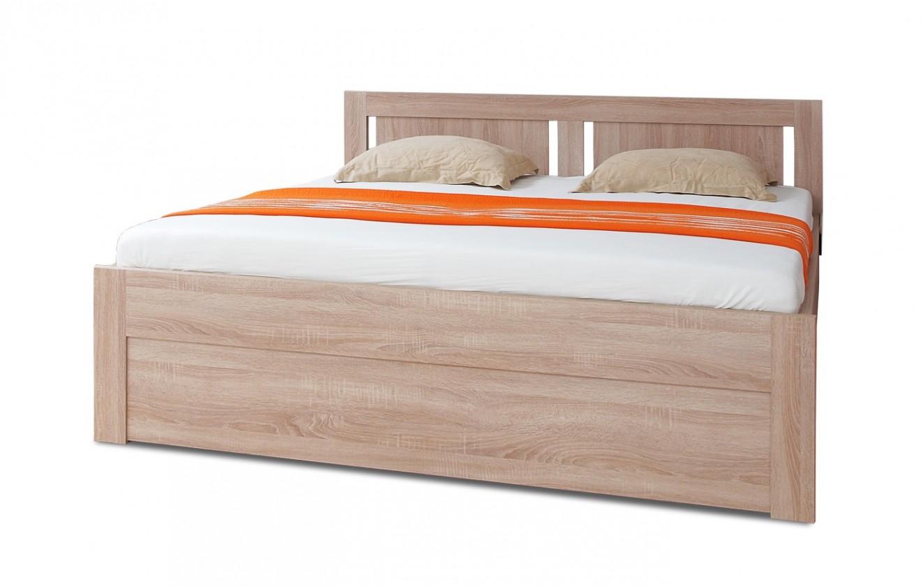 Drevená Mia - posteľ 200x160 + rošt a úložný priestor