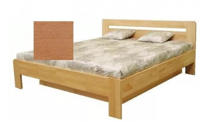 Drevená posteľ Drevená posteľ Kars 2, 180x200, vrátane roštu a úp,bez matracov