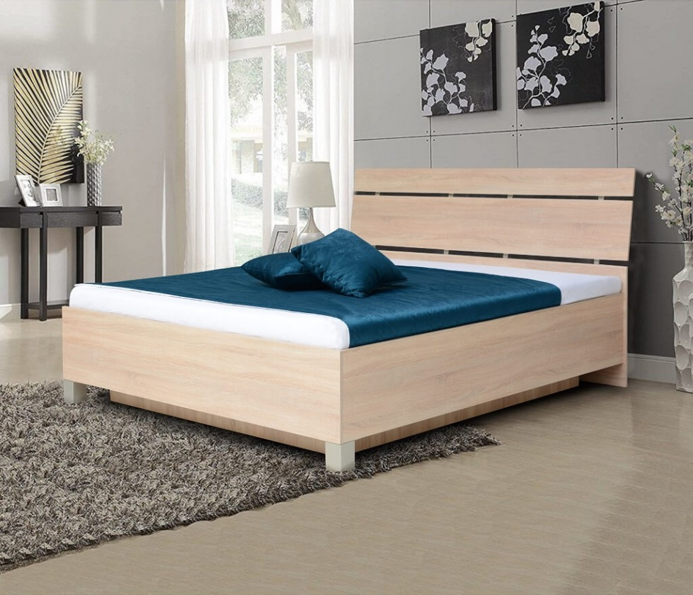Drevená posteľ Drevená posteľ Zara 180x200, bardolino, ÚP