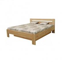 Drevená posteľ Kars 2, 180x200, vrátane roštu a úp,bez matracov