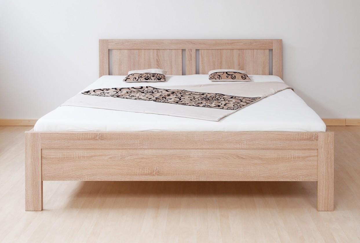 Drevená posteľ Posteľ Lucy 160x200, vrátane roštu, bez matracov