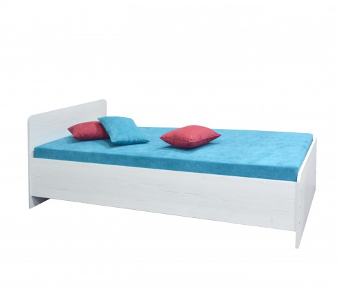 Drevená posteľ Posteľ Play 90x200, vrátane roštu a úp, bez matracov