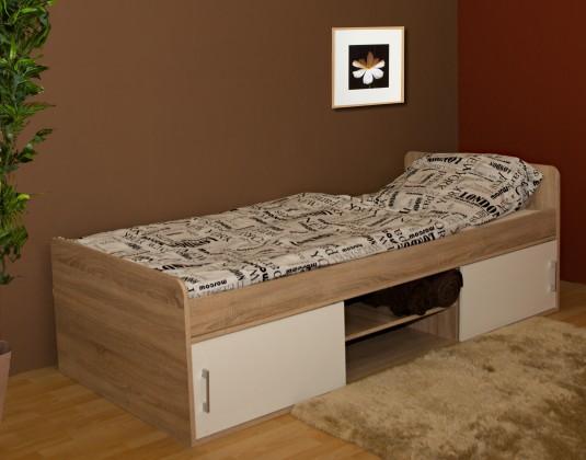 Drevená posteľ Posteľ Sáva II, 90x200, vrátane úp, bez roštu a matraca
