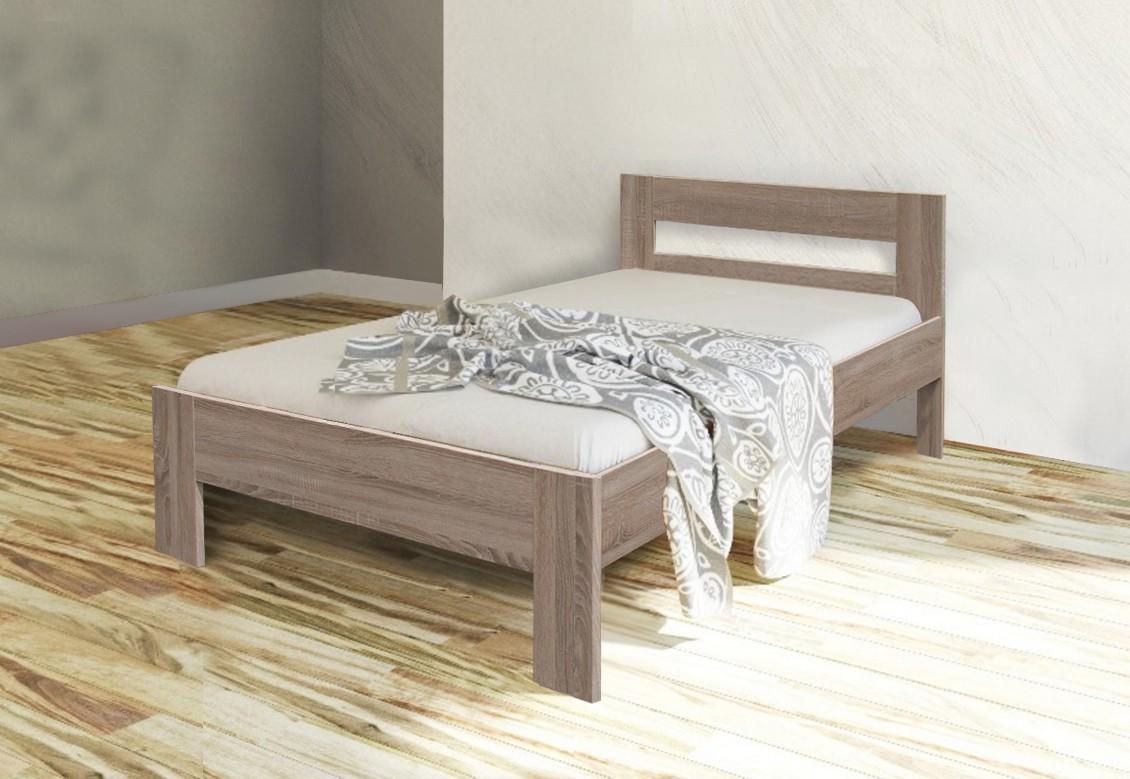 Drevená posteľ Rám postele Nikola II, 90x200, dub